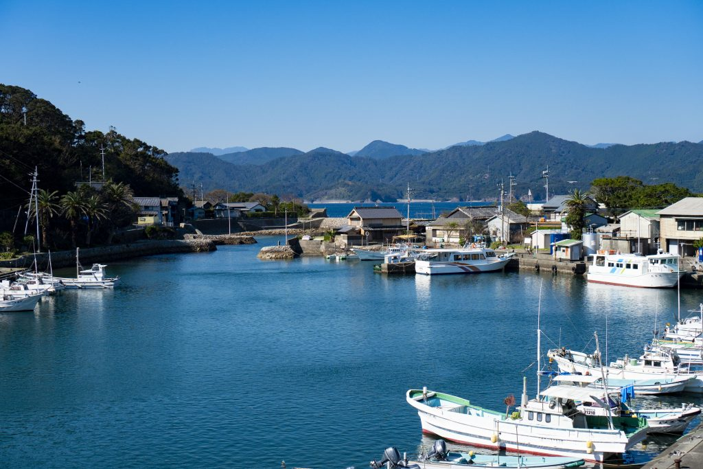 出羽島風景
